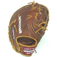 Nokona Walnut W-N70 First Base Glove 12.5 inch Right Hand Throw