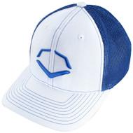 Wilson Sporting Goods Unisex EvoShield Royal Steed Stripe Mesh Flexfit Hat Small Medium