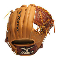Mizuno GGE42 Global Elite Baseball Fielder's Mitt (Tan 11.25 Inch) (Right Handed Throw)