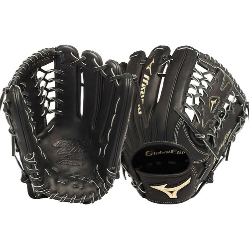 Mizuno GGE71VBK Global Elite VOP 12.75 Outfield Baseball Glove (Right Handed Throw)