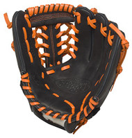 Louisville Slugger HD9 11.5 inch Baseball Glove (Orange, Left Hand Throw)