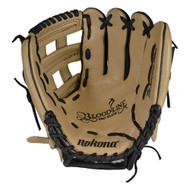 Nokona BL-1175H Bloodline Pro Elite Sandstone Baseball Glove 11.75 (Right Handed Throw)