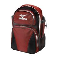Mizuno 360161 Organizer Batpack G3 Bag (Red-Black)