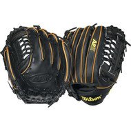 Wilson A2K BB4 CJW Pitcher Baseball Glove Black Tan 12 in (Right Handed Throw)