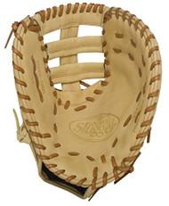 Louisville Slugger 125 Series Cream First Base Mitt 13 inch (Right Handed Throw)