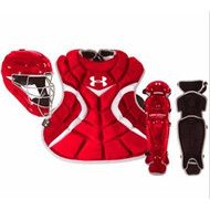 Under Armour Youth Age 7-9 Victory Series Catchers Set (Scarlet)
