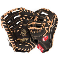 Rawlings PRODCTDCB Heart of the Hide 13 inch Dual Core First Base Mitt (Left Handed Throw)