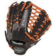 Louisville Slugger HD9 12.75 inch Baseball Glove (Orange, Right Hand Throw)