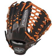 Louisville Slugger HD9 12.75 inch Baseball Glove (Orange, Left Hand Throw)
