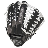 Louisville Slugger HD9 12.75 inch Baseball Glove (White, Right Hand Throw)