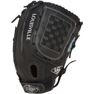 Louisville Slugger FGXN14-BK127 Xeno Black 12.75 Fastpitch Softball Glove (Right Handed Throw)