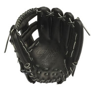 Mizuno GGE60VBK Global Elite VOP Baseball Fielder's Mitt (Black 11.50 Inch) (Right Handed Throw)