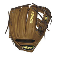Wilson A2000 Pedroia DP15 (Oil Stanned Pocket) Baseball Glove 11.5 Right Hand Throw