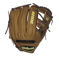 Wilson A2000 Pedroia DP15 Game Model Baseball Glove 11.5 (Right Hand Throw)