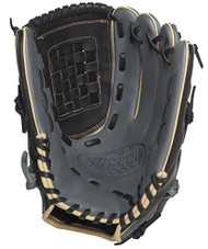 Louisville Slugger 125 Series Gray 12 inch Baseball Glove (Left Handed Throw)