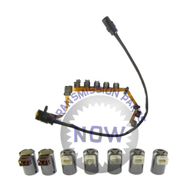oe type wiring harness and 7 piece solenoid set transmission oe type wiring harness and 7 piece solenoid set