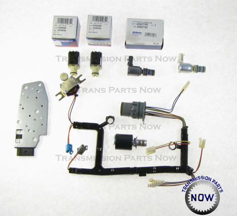 ac delco shift solenoid kit 4l60e 4l65e 4l70e gm solenoids 4l60e solenoids epc tcc 3 2 internal wiring harness pressure