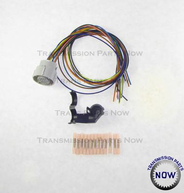 4l80e external wiring harness update kit 34445ek 34445ek wiring harness repair chevy truck connector rostra wiring 4l80 4l80e