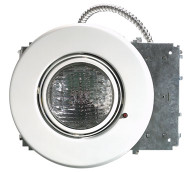"Recessed 6"" Can Emergency Light with PAR30 8W Lamp"