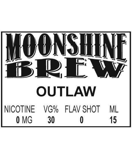 MOONSHINE BREW OUTLAW - E-Juice - E-Liquid - Electronic Cigarettes - ECig - Vape - Vapor - Vaping - Pickering - Ajax - Whitby - Oshawa - Toronto - Ontario - Canada