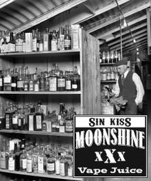 MOONSHINE BREW SIN KISS - E-Juice - E-Liquid - Electronic Cigarettes - ECig - Vape - Vapor - Vaping - Pickering - Ajax - Whitby - Oshawa - Toronto - Ontario - Canada