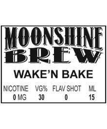 MOONSHINE BREW WAKE'N BAKE - E-Juice - E-Liquid - Electronic Cigarettes - ECig - Ejuice - Eliquid - Vape - Vapor - Vaping - Pickering - Ajax - Whitby - Oshawa - Toronto - Ontario – Canada