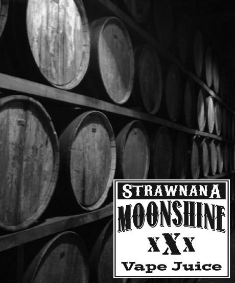 MOONSHINE BREW STRAWNANA - E-Juice - E-Liquid - Electronic Cigarettes - ECig - Vape - Vapor - Vaping - Pickering - Ajax - Whitby - Oshawa - Toronto - Ontario - Canada