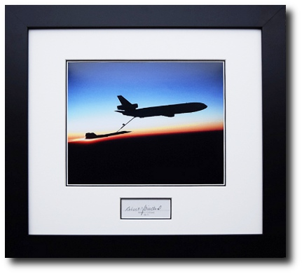 Framed Aviation Collectibles | Collctibles Signed by Famous Aviators ...