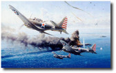 Battle of the Coral Sea  Aviation Art