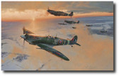 Midwinter Dawn  Aviation Art