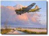 Skipper Comes Home Aviation Art