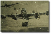 Bomb Away!  Aviation Art