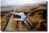 Airstrike  Aviation Art