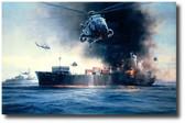 Sea King Rescue  Aviation Art