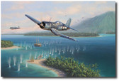 Swashbuckler's Surprise by Jim Laurier  Aviation Art