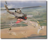 Snake Attack by Jim Laurier Aviation Art