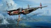 NO SAKI TONIGHT By John Shaw Aviation Art