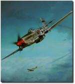 DEBDEN EAGLES By John Shaw Aviation Art