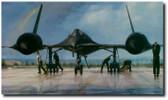 OUTRUN THE THUNDER By John Shaw Aviation Art