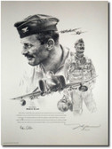 Robin Olds Portrait by John Shaw