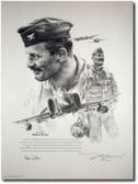Robin Olds Portrait by John Shaw Aviation Art