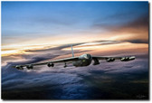 B-52 Inbound Aviation Art