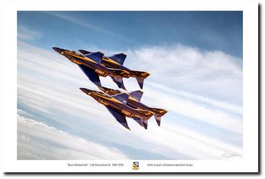 Blue Diamond Aviation Art