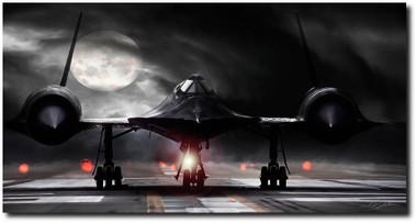 Night Moves Aviation Art