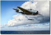 Action Avenger Aviation Art