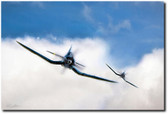 The Double Trouble Aviation Art