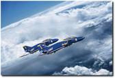 Angels Above Aviation Art