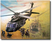 Passing the Torch by Joe Kline - UH-60 Black Hawk