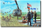 Almost Home by Joe Kline - UH-1 Huey