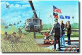 Almost Home by Joe Kline - UH-1 Huey Aviation Art